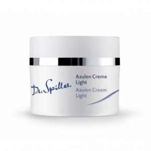 Crema calmanta cu Azulena pentru ten sensibil si cuperozic Light - 50 ml - Dr Spiller