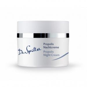 Crema de noapte Propolis pentru ten gras predispus la cosuri si acnee - 50 ml - Dr Spiller