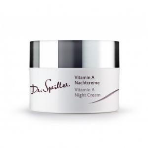 Crema de noapte antirid cu Vitamina A - 50 ml - Dr Spiller