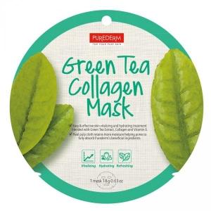Masca Ceai Verde - cerc - PureDerm