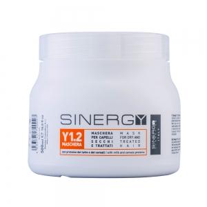 Masca pentru par uscat si tratat - 500 ml - Sinergy
