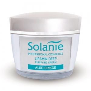 Crema de curatare profunda cu lipamina - 50 ml - Solanie