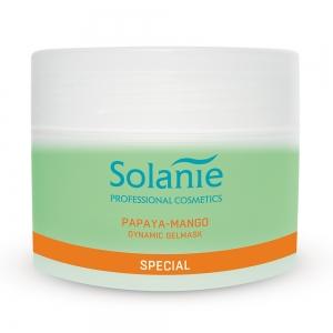 Masca gel dinamizanta Papaya Mango - 250 ml - Solanie