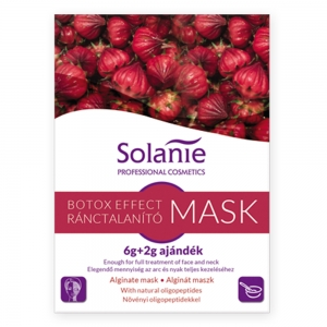 Masca alginata antirid Botox Effect - 8 g - Solanie