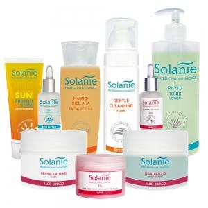 Tratament Regenerare celulara cu Acizi de Fructe - Kit Mare - Solanie