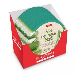 Masca Aloe Vera - cerc - 24 buc. - PureDerm