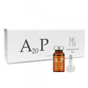 Peeling de albire cu Arbutina - A20P - 10 ml x 5 buc - cutie - MCCM