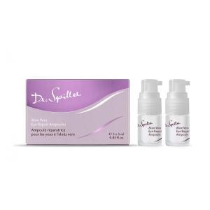 Fiola Anti Aging pentru ochi cu Aloe Vera si Colagen - 5 ml x 5 buc - cutie - Dr Spiller