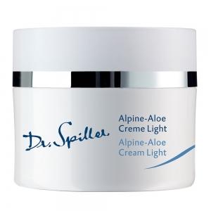 Crema regeneranta 24 ore Alpine Aloe Light - 50 ml - Dr Spiller