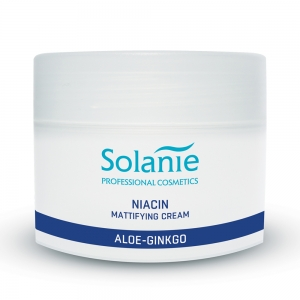 Crema niacina pentru ten gras - 250 ml - Solanie