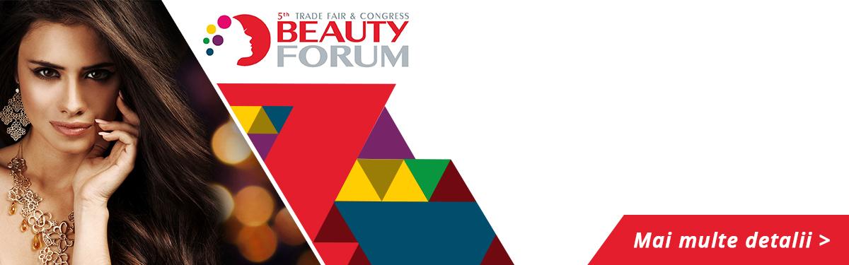 Seminarul de cosmetica - Cluj-Napoca - Beauty Forum 2017
