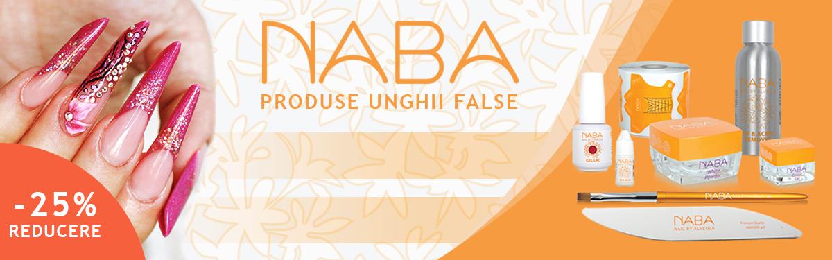 NABA - produse profesionale de unghii false cu -25% reducere