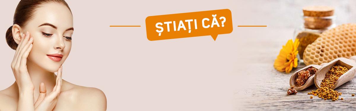 ȘTIAȚI CĂ : Propolisul rezolvă în proporție de 60% problemele tenului gras predispus la acnee.