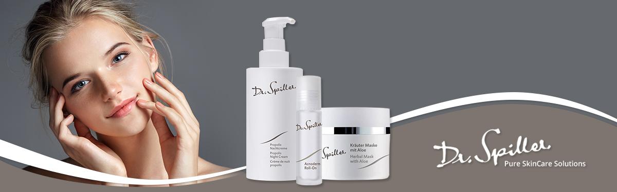 Tratament facial pentru adolescenți Dr Spiller și Îngrijire facială pentru bărbați - Dr. Spiller