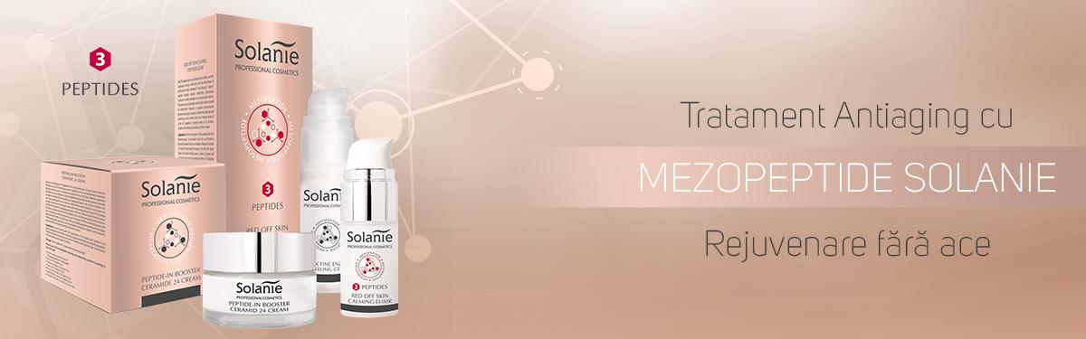Tratament Antiaging cu MezoPeptide Solanie - Rejuvenare fără ace