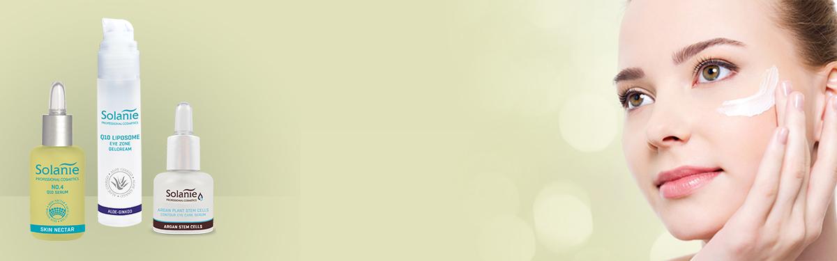 Tratament eficient contra ridurilor, cearcănelor și a edemelor din jurul ochilor - Solanie