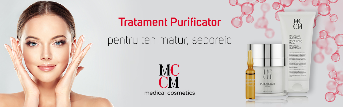 Tratament Purificator pentru ten matur, seboreic - MCCM Medical Cosmetics