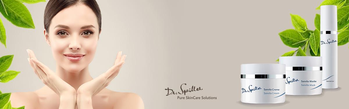 Tratament special pentru îngrijirea tenului uscat și sensibil - Sanvita - Dr Spiller