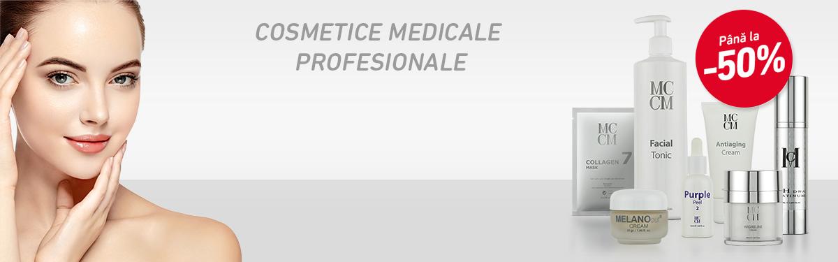 Până la -50% la Cosmetice Medicale Profesionale MCCM