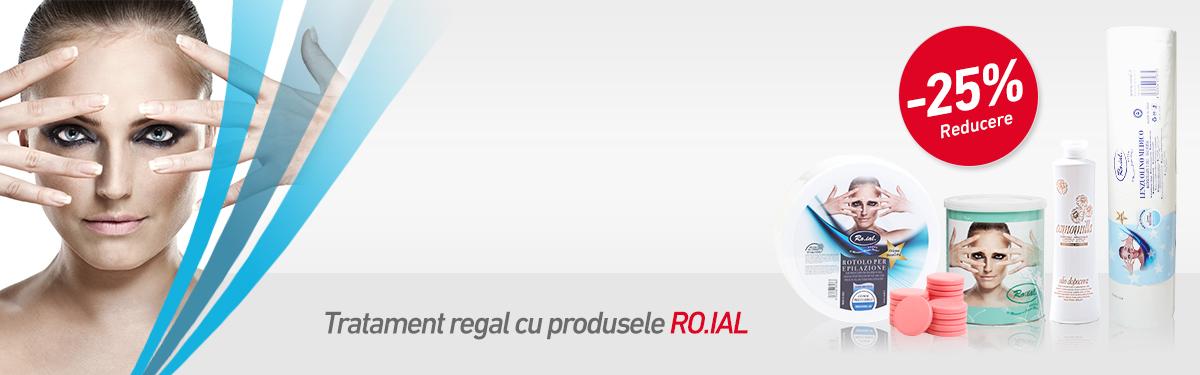 Tratament regal cu produsele RO.IAL
