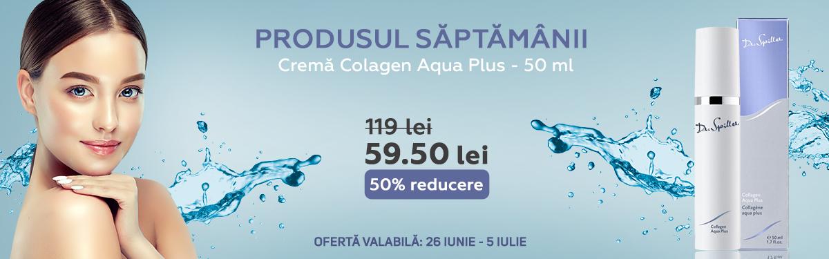 Crema Colagen Aqua Plus - 50 ml - Dr Spiller cu -50% reducere