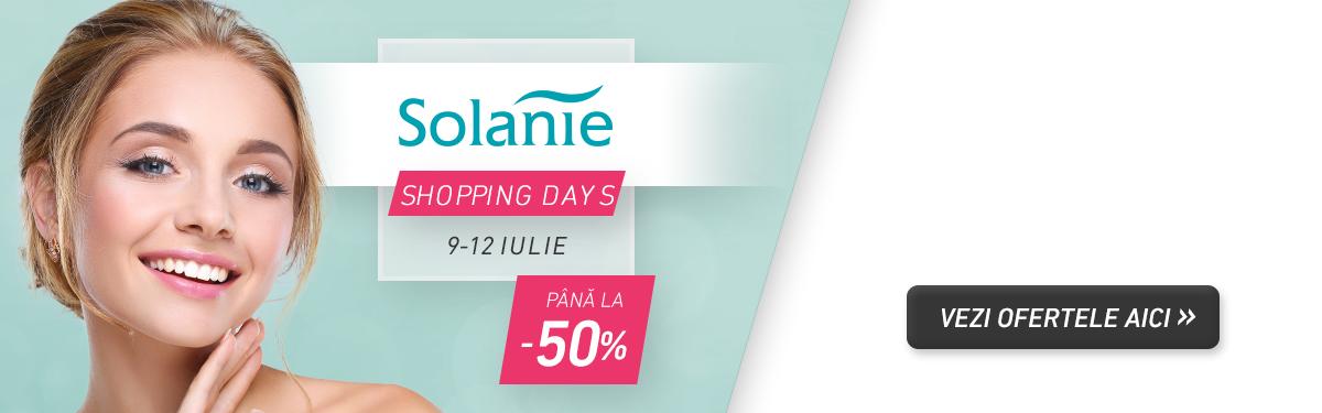 Solanie Shopping Days 2020 - Cosmetice profesionale - Reduceri speciale dedicate profesionistilor!