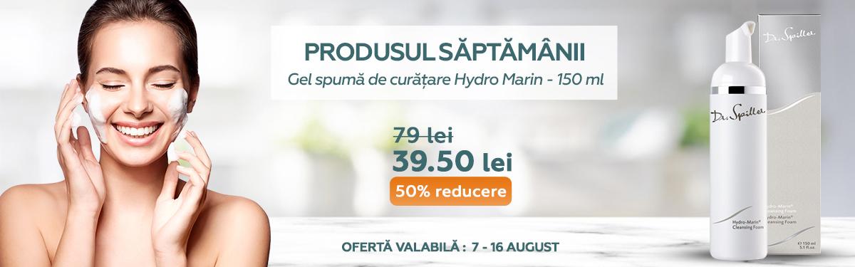 Gel spuma de curatare Hydro Marin - 150 ml - Dr Spiller cu -50% reducere