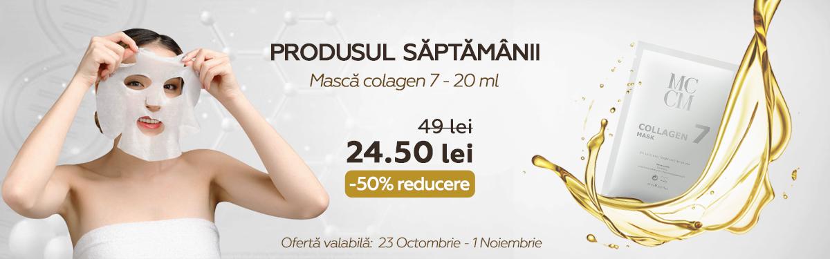 Masca Colagen 7 - 20 ml - MCCM cu -50% reducere