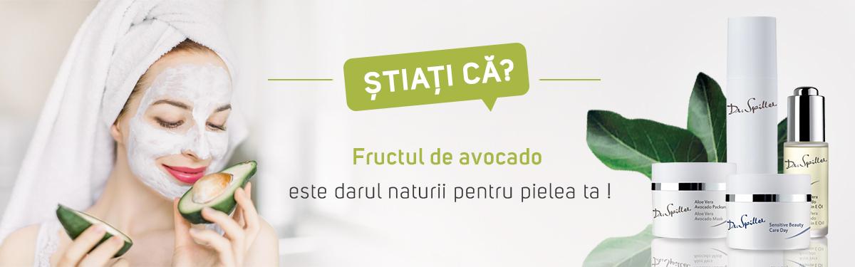 Știați că? Fructul de avocado este darul naturii pentru pielea ta