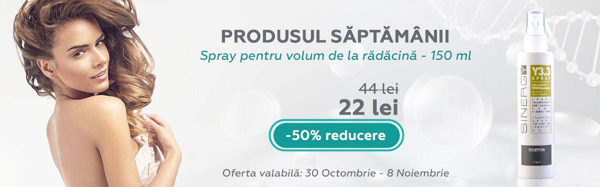 Spray pentru volum de la radacina - 150 ml - Sinergy cu -50% reducere