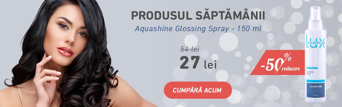 -50% reducere la Aquashine Glossing Spray - 150 ml - Sinergy