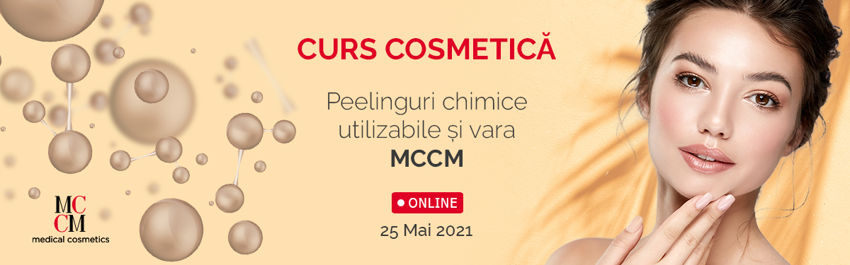Curs Online - Peelinguri chimice utilizabile și vara - MCCM - Medical Cosmetics