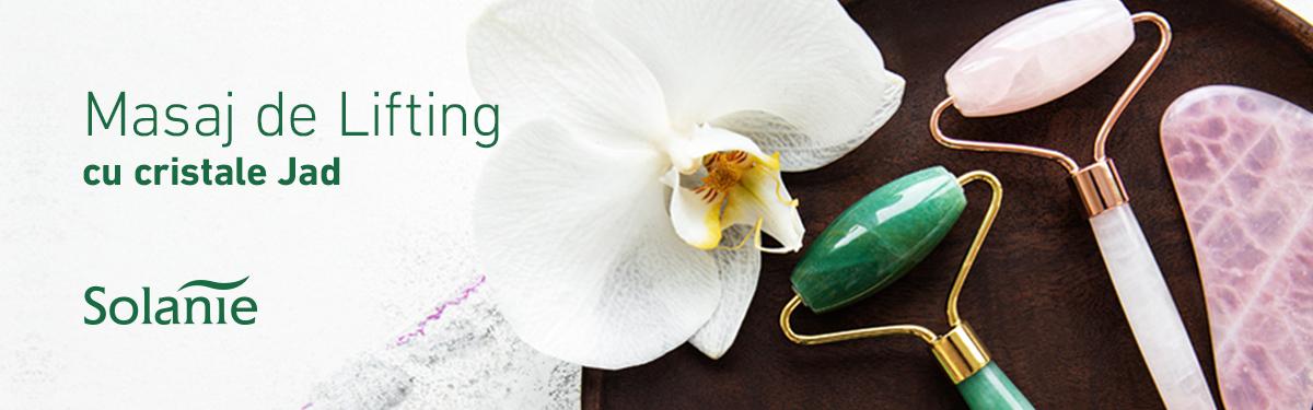 Lifting natural cu cristale Gua Sha - Solanie