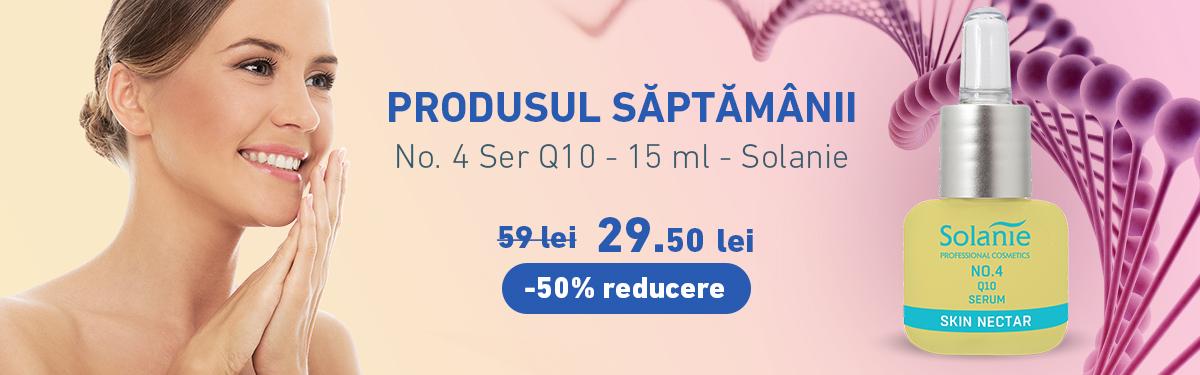 No. 4 Ser Q10 - 15 ml - Solanie cu -50% reducere