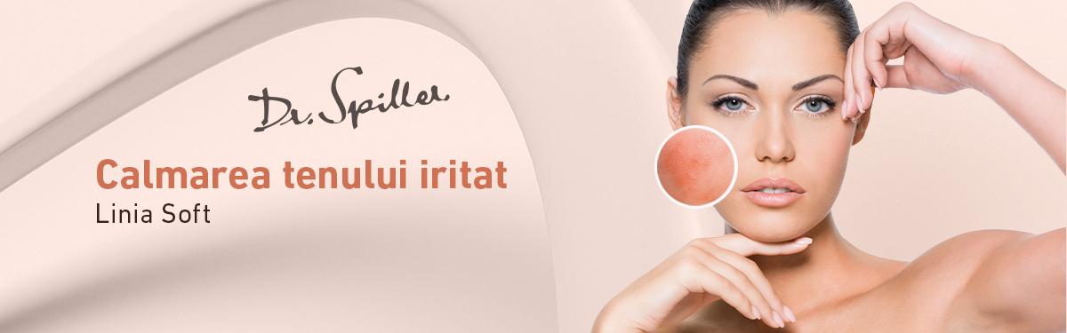 Ingrijirea pielii cu Linia Soft - Dr. Spiller