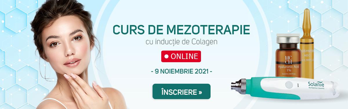 Curs de Mezotarepia cu Inductie de Colagen - ONLINE