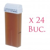 Ceara de unica folosinta - galben natur - 24 buc.