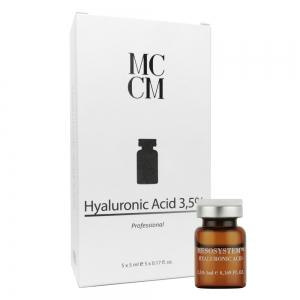 Fiola cu Acid Hialuronic 3,5% - 5 ml x 5 buc - cutie - MCCM